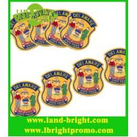 Wholesale customized design 3mm thickness felt embroidery badges from china suppliers