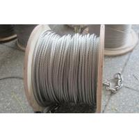 Wholesale Flexible 304 Stainless Steel Wire Rope 6x19S IWRC 7mm 8mm Diamter Bright Surface from china suppliers