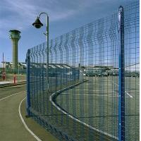 Wholesale Hot - dipped coated Mesh Panel Fencing / security fence panels from china suppliers