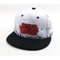 China 100% polyster Custom Snapback Embroidery customize snapback hats wholesale size57-59cm  wihte black  blue on sale