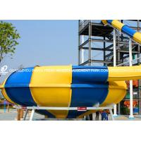 Wholesale Water Park Fiberglass Swimming Pool Water Slides for Amusement Park from china suppliers