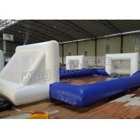 Wholesale 12 x 6M Blue Inflatable Football Field Sports Games With CE Blower from china suppliers