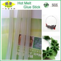 Wholesale Translucent White Hot Melt Adhesive Bar , Silicone Hot Glue Sticks For Hot Glue Gun from china suppliers