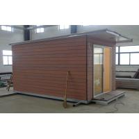 Wholesale Light Steel structure Holiday Home / Prefabricated Garden Studio For Holiday Living from china suppliers