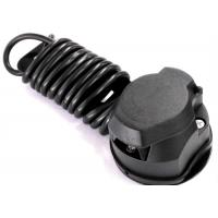 Wholesale Black 7 Way Trailer Electrical Plug Connecting Tow Vehicle To Semi Truck from china suppliers