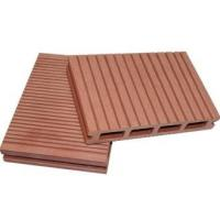 Quality wood grain waterproof WPC crack-resistant decking good price wood plastic composite decking extruded plastic for sale