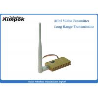 Wholesale 8CH Long Range Video Transmitter 3000m Transmission Range Wireless Transmitter from china suppliers