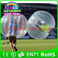 Wholesale hot sale bubble soccer bubble football human bubble ball for games from china suppliers