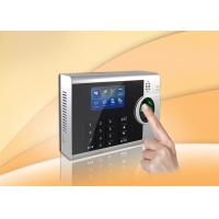 Wholesale TCP / IP biometric time attendance system Support Webserver , Embedded LINUX system from china suppliers