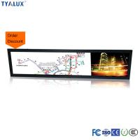 Wholesale 28.8 Inch Ultra Wide Stretched Bar HDMI DVI VGA input  Android LCD Media Player from china suppliers
