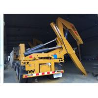 Quality Side Lifter 3 Axles Semi Trailer Truck Lift / Carry 20ft 40ft Container for sale