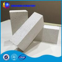 Wholesale High content AL2O3 pure white Insulating Fire Brick , refractory firebrick from china suppliers