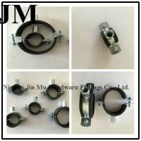 Wholesale 20 mm Bandwidth Rubber Pipe Clamp M8/M10 Nut from china suppliers
