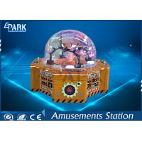 China Four Players Amusement Game Machines , Children Crane Candy Game Coin Operated Vending Machine on sale