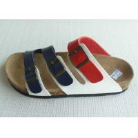 Quality High quality Peep Toe Men Cork Sandals , Summer Casual OEM for sale
