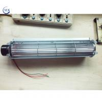 Wholesale Air cooling 12V dc motor cross flow fan for refrigerator and log burning Household electronic from china suppliers