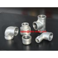 Forged pipe fitting high pressure sr elbow union tee