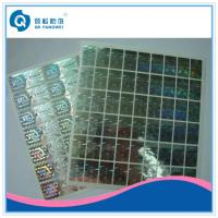 Buy cheap Custom 2D / 3D Holographic Sticker , Die Cut Self Adhesive Hologram Sticker from wholesalers