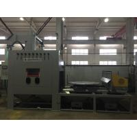 Buy cheap Large Turntable Dustless Sandblasting Machine / Rotary trammer can be fixed and Special track shallow from wholesalers