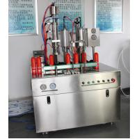 Wholesale Photocatalyst Aerosol Spray Bag On Valve Filling Machine 600-1000cans/hour Max 250ml from china suppliers