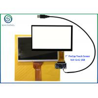 "Wholesale 7"" Capacitive Touch Screen With USB Interface For Innolux AT070TN92 from china suppliers"
