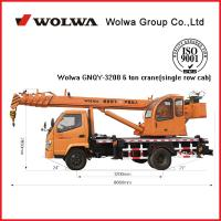 Wholesale Wolwa GNQY-3200 6 ton crane from china suppliers