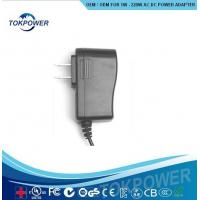 Wholesale Universal AC DC Power Adapter / Wall Mount Electrical Plug Adapters10W 5V 2A from china suppliers