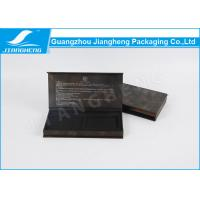 Wholesale Fashion Elegant Pen Packaging Box Black Paper Customized With Outer from china suppliers