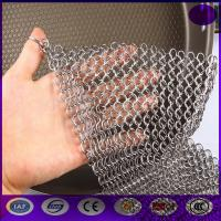 Wholesale Finger Cast Iron Stainless steel Scrubber Chain mail Cleaner Kitchen made in china from china suppliers