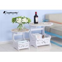 Buy cheap A few simple Tuzki round round table creative cute storage Mini leisure side a few a few simple small angle table from wholesalers