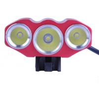 Wholesale 3x CREE T6 3000Lms 4 Flash Modes Bicycle Light/Bike Lamp/Headlamp Taking 18650 Battery from china suppliers