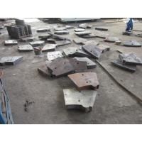 China ASTM A 532 Customized Ni-hard White Iron Mill Liners HRC53 Hardness Ni Hard Castings on sale