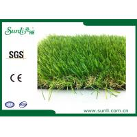 Wholesale 11600Dtex Outdoor Artificial Turf  35mm Gauge 3 / 8  Natural Landscaping Artificial Grass from china suppliers