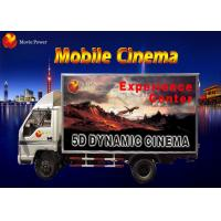 Wholesale Simple Dynamic Bubble Lighting Wind Mobile 5D Cinema Truck 2.25KW 220V from china suppliers