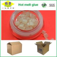 Wholesale EVA Hot Melt Adhesive / Hot Melt Glue For Box Sealing With Fluidity from china suppliers
