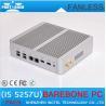 Buy cheap 5th Gen CPU Broadwell Intel Core i5 5257u HD 6100 Fanless Barebone Mini PC Windows 10 Linu from wholesalers