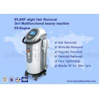 Wholesale IPL+ RF elight  hair removal and skin rejuvenation beauty machine With Two Handles from china suppliers