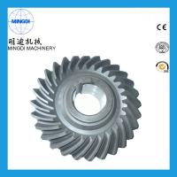 Wholesale Precision Forging OEM Spring Helical Spiral Bevel Gear Customized 20 Degree from china suppliers