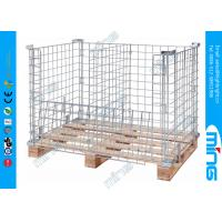 Wholesale Square Adjustable Wire Dump Bins from china suppliers