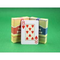 Texas Hold'em Plastic Playing Cards Invisible Ink Markings for UV Contact Lenses