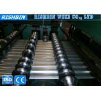 Wholesale Imperial Rib Corrugated Roof Sheet Roll Forming Machine Hydraulic Post Cutting from china suppliers