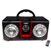 Wholesale Remote Control 2.1 Loudspeaker for Music Sound Box with LED Flash Color #UK-18b from china suppliers