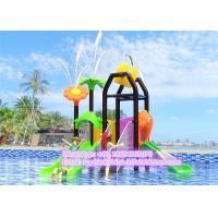Wholesale Kids Safe Water Playground House Equipment With LLDPE Engineering Plastic / Steel Pipe Mateiral from china suppliers