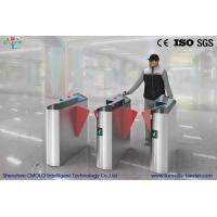 Wholesale Electronic / Automatic Train Station Turnstiles with Biometric Systems , AC 220V from china suppliers