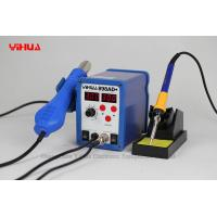 Wholesale hot air 2in1 digital soldering station , PCB / IC rework Stations with 3 nozzles from china suppliers