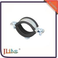 Wholesale Wall Mount Cast Iron Pipe Clamps One Side Open One Side Closed 4 Point Welding from china suppliers