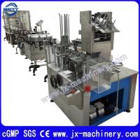Buy cheap Middle Speed E-Cig Filling Plugging Capping Machine for 10ml Round Bottle (80-100PCS) /Min from wholesalers