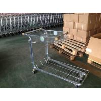 Wholesale Retail Warehouse Trolley / cargo trolley with two round embossed logo plate from china suppliers