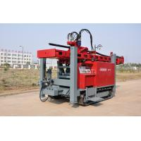 Wholesale Safety Self - propelled Crawler Mounted Water Well Drilling Rig 400m 2-5 inch from china suppliers