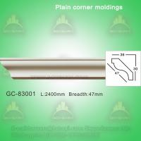 Wholesale Polyurethane cornice mouldings crown moulding from china suppliers